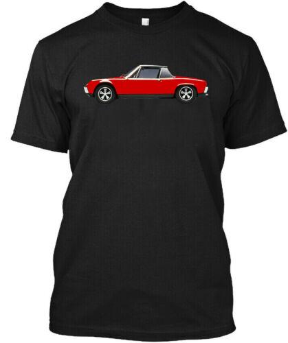 HOT RARE 914 Porsche T shirt914 Porsche T shirt T-SHIRT S-4XL