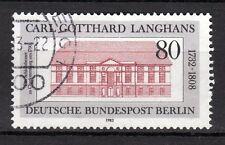 Germany / Berlin - 1982 Carl Langhans (Master builder) - Mi. 684 VFU
