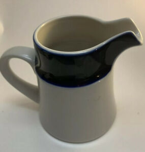 Noritake-Stoneware-FJORD-Creamer-Pitcher-Cobalt-Blue