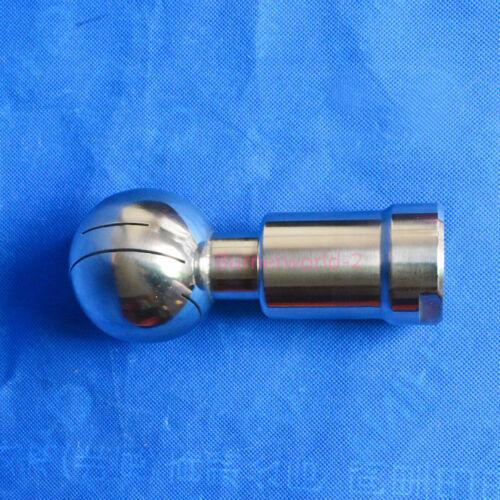 "1//2/"" CIP Rotary Spray Ball Cleaning 3//4/"",1/"" 2/""  Rotating Tank Washing Nozzle"