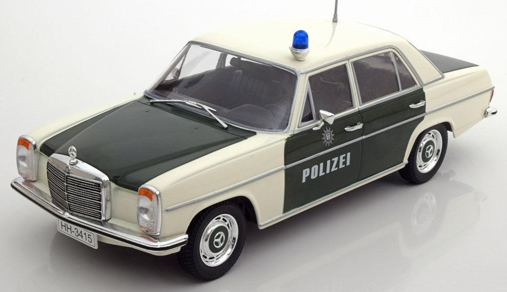 buscando agente de ventas Mcg 1973 Mercedes Mercedes Mercedes Benz 220 8 (W115) 1 18 policía hallazgo raro    Hermoso   Entrega directa y rápida de fábrica