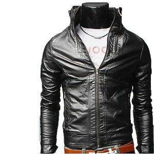 Giubbotto Uomo Giacca Men Pelle Blouson Jacket Cuir Leather In Veste N5d Homme 1UffqxA