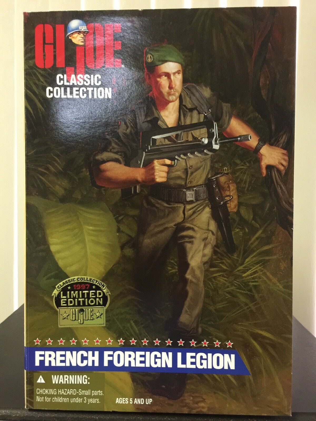 GI JOE FRENCH FOREIGN LEGION - IN EXCELLENT  CONDITION.
