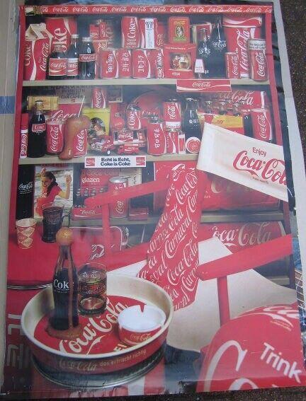 Coca Cola, Plakater