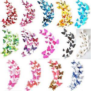 12-pcs-3D-papillon-Stickers-muraux-papillons-decoration-maison-chambre-enfant