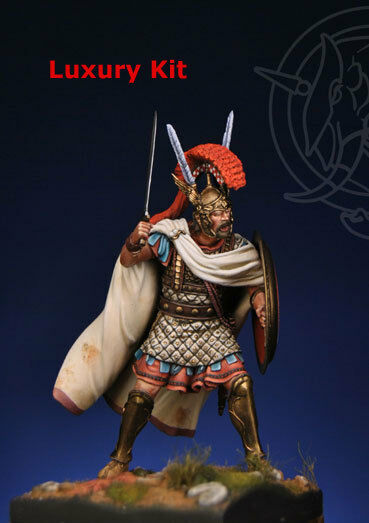ROMEO MODELS RM7535 -  HOSTUS  ROMAN CENTURION 215 BC - 75mm bianca METAL KIT
