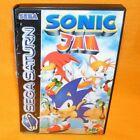 Sonic Jam 100 Original SEGA Saturn 4 Games in 1 Complete - PAL Version