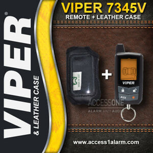 Details about Viper 7345V 2-Way LCD Remote Control AND Leather Case on