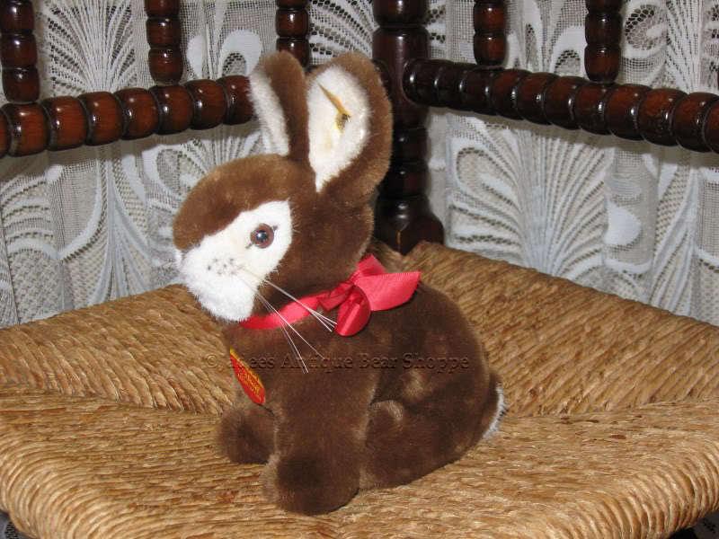 Steiff Germany Hoppy Hase Rabbit 081712 16 cm All IDS  KFS