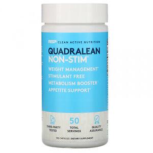 RSP Nutrition QuadraLean Non Stim Appetite Support Dietary Supplement 150 Caps