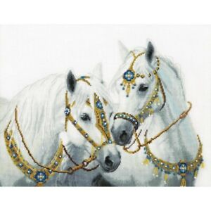 Counted-Cross-Stitch-Kit-Horses-DIY-Hand-embroidery