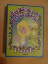 """Kleines Mini ( Mitbringspiel) Puzzle """" Das Mädchen mit den Schwefelhölzern"""""""