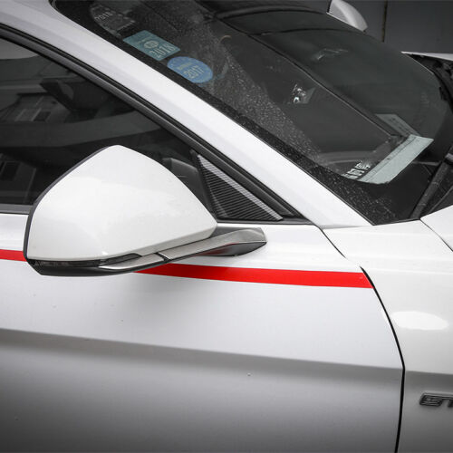 ABS Window Sticker A-pillar Glasses Decoration Moulding for Ford Mustang 15-17