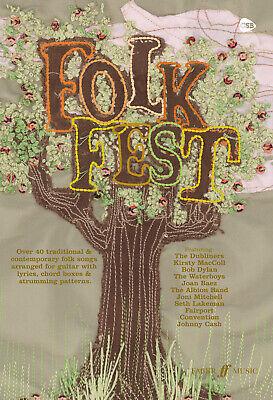 Voice Music Faber Music 0571526748 Guitar Folk Fest chord songbook