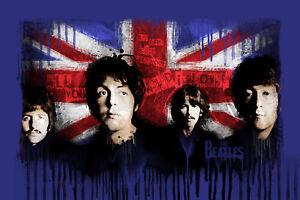 The-Beatles-24-034-x36-034-Canvas-Art-Print