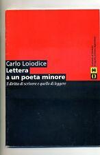 C.Loiodice # LETTERA A UN POETA MINORE # Comune di Venezia