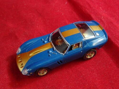 NEW RRR BLUE LEGENDARY G.T HO SLOT CAR BODY ONLY   AURORA THUNDERJET T-JET DASH