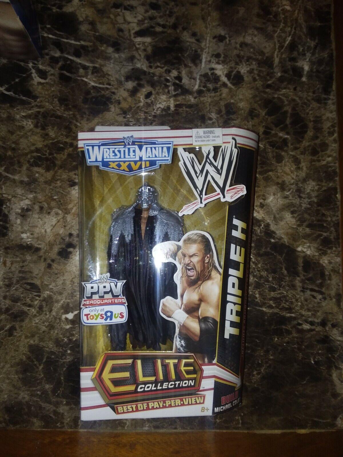 WWE Wrestling Elite Best of Pay Per View Triple H  TRU Exclusive azione cifra