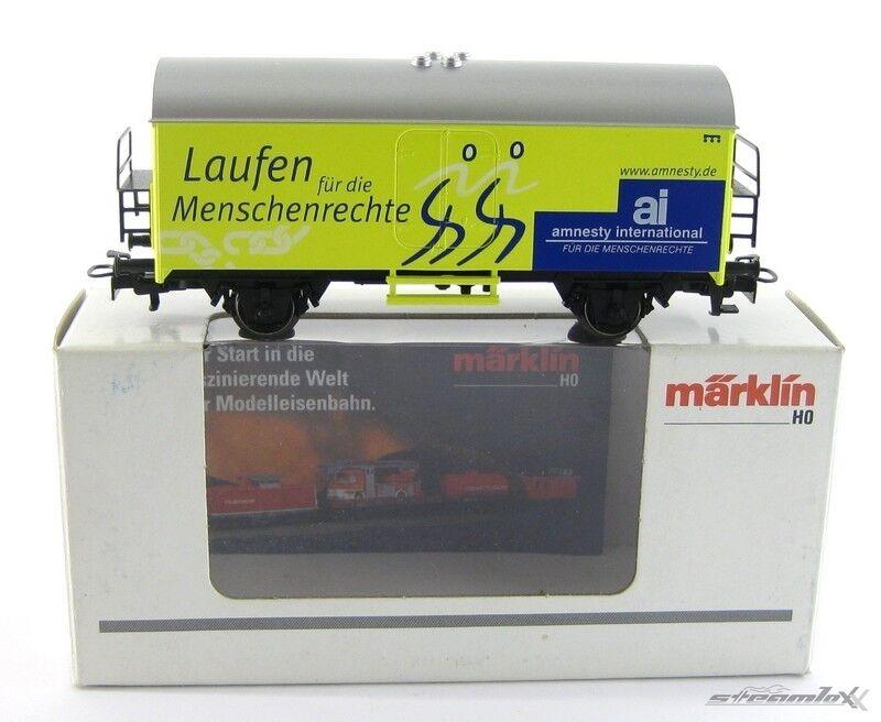 Märklin 2005722 4415 H0  SoMo Güterwagen amnesty international OVP X00001-07591