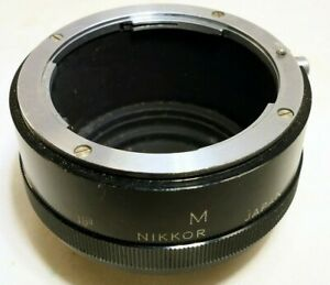 Nikon-F-M-Nikkor-extension-tube-micro-macro-genuine-original-Genuine