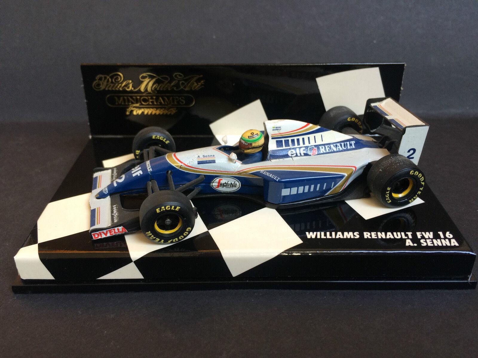 Minichamps - Ayrton Senna - Williams - FW16 - 1 43 - 1994 - Rare