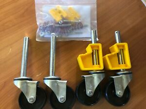 Bailey Platform Ladder Pro Series Castor Kit