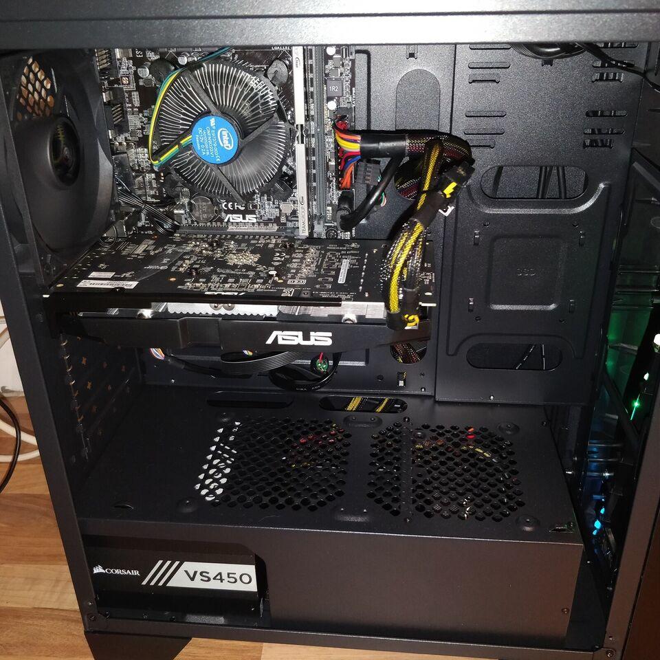 Selvbyg, AeroCool Gaming PC, 3,7 Ghz
