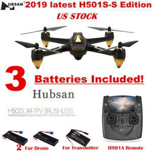 Hubsan X4 H501S FPV RC Quadcopter 1080P HD Brushless Auto-Return GPS Drone, 2018