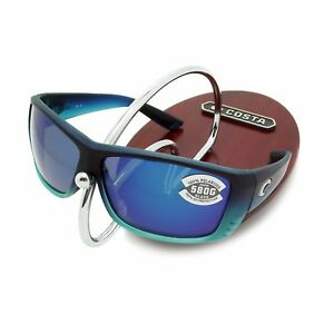 cbabf8fad0 NEW Costa Del Mar CAT CAY Matte Caribbean Fade   580 Blue Mirror ...