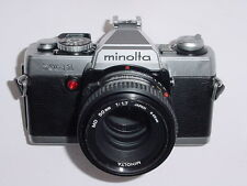 MINOLTA XG-1 35mm Film SLR Camera with MINOLTA 45mm F/2 MD Lens