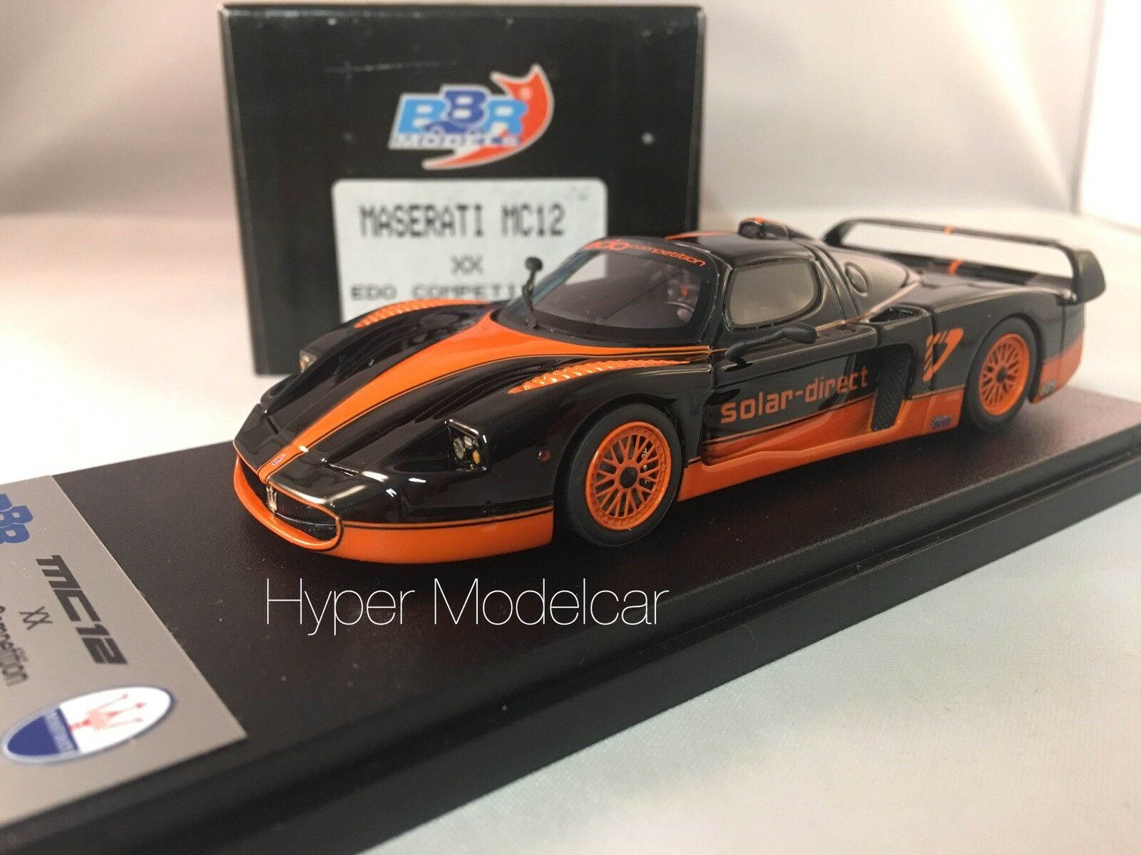BBR Model 1 43 Maserati MC12 Edo Competition 2005 L.E 50 pcs Art. AB17