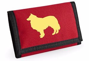 Rough-Collie-Gift-Wallet-Rip-Stop-Colour-choice-Purse-Birthday-Gift
