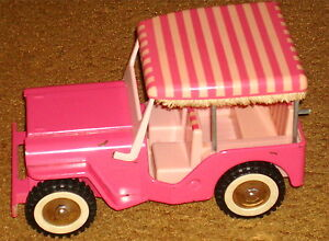 Tonka Toy Jeep Pink Collectible Ebay