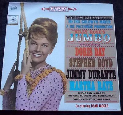 Soundtrack LP JUMBO OST USA VG+++ Doris Day