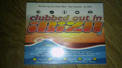 CLUBBED OUT IN IBIZA Brand New ealed Double Cassette Pack FREE UK P&P