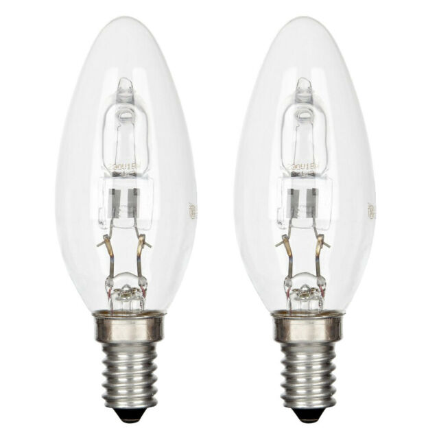 General Electric Halogen Glühbirne Kerze 30W E14 warmweiss 2er-Set 230V