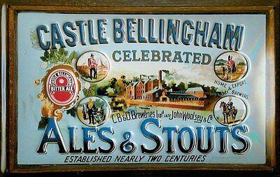hi Krankheiten Zu Verhindern Und Zu Heilen Schloss Bellingham Ales & Stout Geprägte Stahl Zeichen 300mm X 200mm