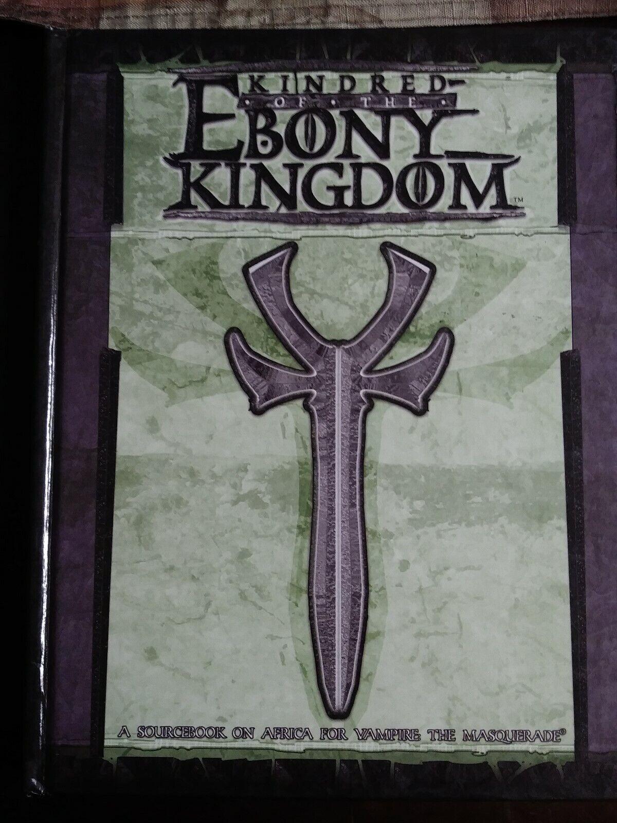 White Wolf Vampire The Masquerade Kindred of the Ebony Kingdom