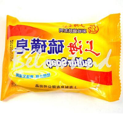 84g Soap Sulfur Cure Skin Mite Acne Treat Seborrhea Psoriasis Eczema Anti Fungus