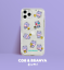 miniature 12 - Official KAKAO Friends NINIZ Pattern Transparent Jelly Phone Case +Free Tracking