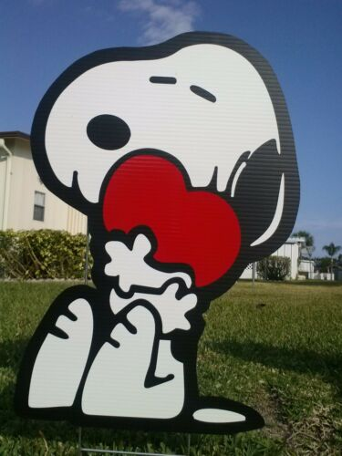 Peanuts outdoor Christmas valentine/'s decorations
