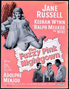 c566aead0c Image is loading FUZZY-PINK-NIGHTGOWN-1957-Jane-Russell-Keenan-Wynn-