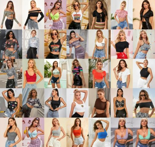 Lot 200 Pcs WHOLESALE CLOTHING WOMENS MIXED Jeans Pants Shorts Skirts Apparel