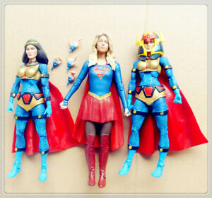 lot-of-3-DC-Universe-Classics-Big-Barda-SUPERGIRL-Action-Figure-6-034-old-as2