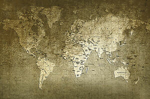 image about Vintage World Map Printable referred to as Information in excess of innovative common earth map print atlas Poster or canvas