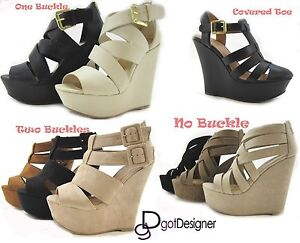 Women-039-s-Fashion-Dress-Shoes-Platforms-Wedges-Sandals-Heels-Summer-Sexy-Strappy