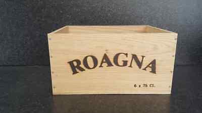 Luminosa Roagna - 6 Bottiglia Vino In Legno Di Quercia Box-shabby Chic Home Storage- Famoso Per Materie Prime Di Alta Qualità, Gamma Completa Di Specifiche E Dimensioni E Grande Varietà Di Design E Colori