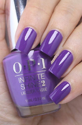 OPI INFINITE SHINE Gel Effects Nail Lacquer Polish PURPLETUAL EMOTION Purple L43