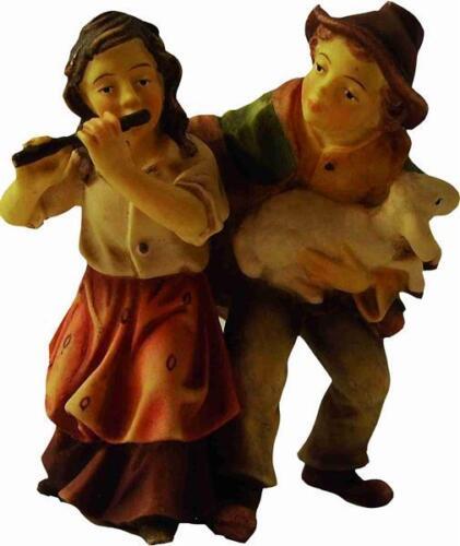 Mathias Krippe Krippenfiguren Kinderpärchen für die Größe ca.15cm