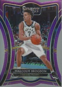 2019-20-Select-Prizms-Purple-Die-Cut-115-Malcolm-Brogdon-99-NM-MT